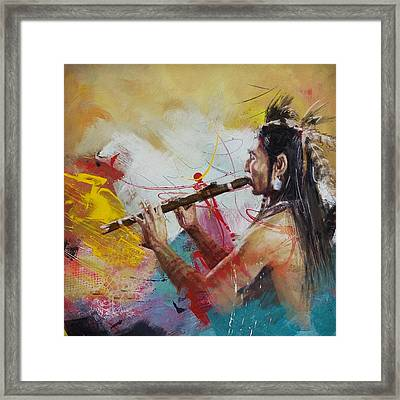 First Nations 22 Framed Print by Corporate Art Task Force