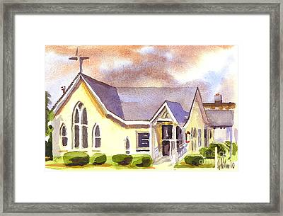 First Presbyterian Church Ironton Missouri Framed Print by Kip DeVore