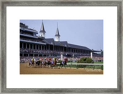 First Saturday In May - Fs000544 Framed Print by Daniel Dempster