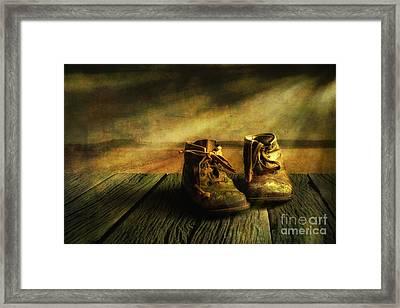 First Shoes Framed Print by Veikko Suikkanen