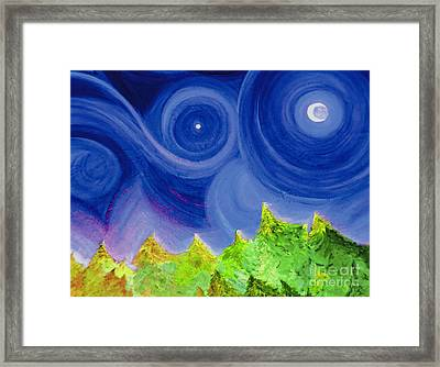 First Star By  Jrr Framed Print by First Star Art