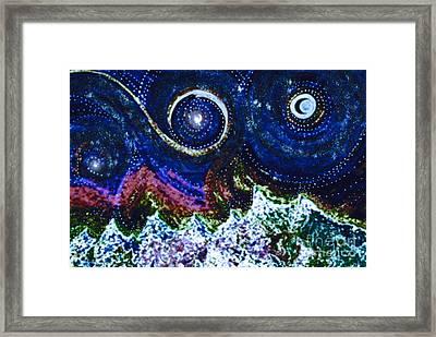 First Star Magic Sky By Jrr Framed Print by First Star Art
