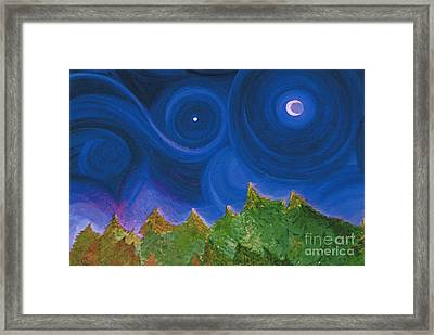 First Star Wish By Jrr Framed Print by First Star Art