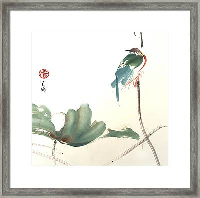First To Arrive Framed Print by Ming Yeung