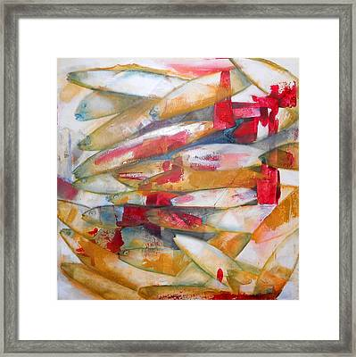 Fish 3 Framed Print by Danielle Nelisse