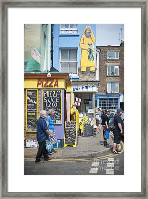 Fish N Chips Framed Print by Donald Davis