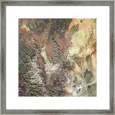 Fish River Canyon Framed Print by Us Geological Survey
