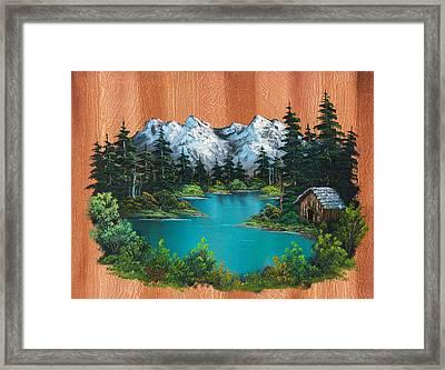 Fisherman's Cabin Framed Print by C Steele