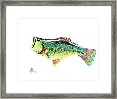 Fishermans Delight Framed Print by Kip DeVore