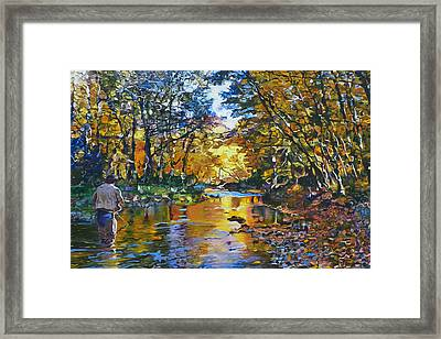 Fisherman's Dream Framed Print by Kenneth Young