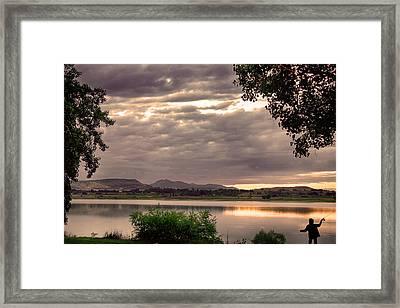 Fisherman's Sky Framed Print by James BO  Insogna