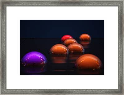 Fisheyes 9 Framed Print by Matin A