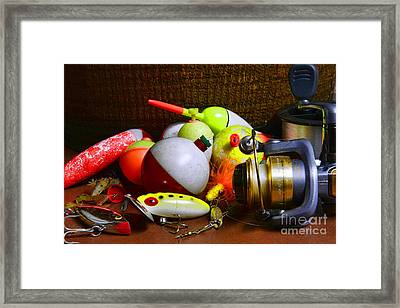 Fishing - Freshwater Tackle Framed Print by Paul Ward