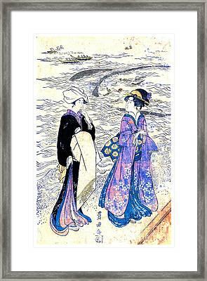 Fishing Net 1799 Framed Print by Padre Art