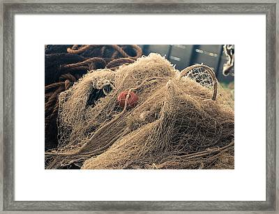 Fishing Net Framed Print by Dutourdumonde Photography