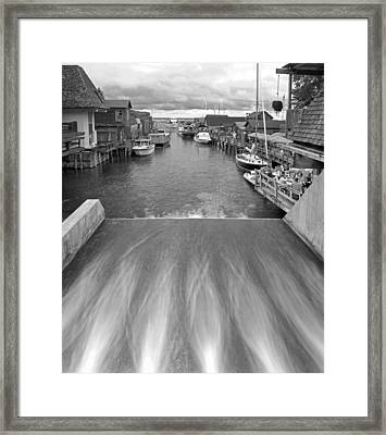 Fishtown At Leland Framed Print by Twenty Two North Photography