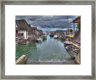 Fishtown Framed Print by Twenty Two North Photography