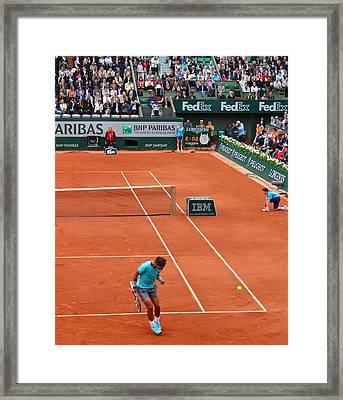 Fist Pump Framed Print by Alexi Hoeft