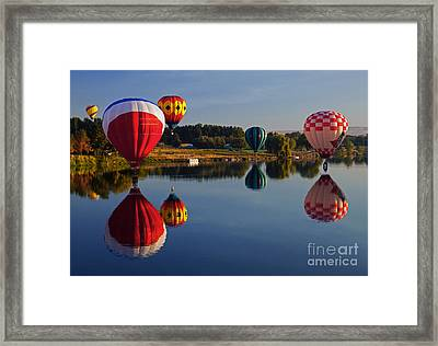 Five Aloft Framed Print by Mike  Dawson