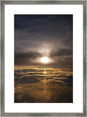 Five And A Half Mile Sunset Framed Print by Richard Reeve