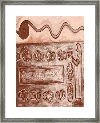 Five Loaves And Two Fish 5 Framed Print by Patrick J Murphy