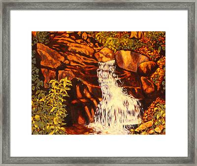 Five Mile Mountain Framed Print by Kendall Kessler