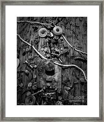 Five O'clock Shadow Framed Print by Arne Hansen