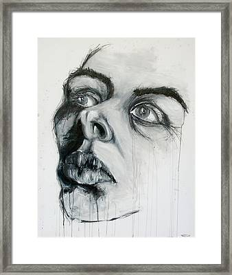 Fixation Framed Print by Tome Caupers