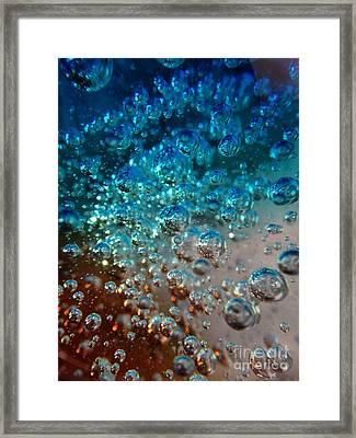Fizzin Framed Print by Joseph Baril