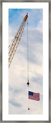 Flag 1 Framed Print by Mike Tanner