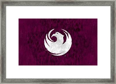 Flag Of Phoenix Framed Print by World Art Prints And Designs