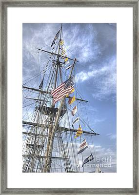 Flagship Niagara Framed Print by David Bearden