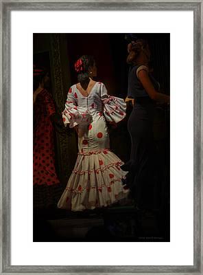 Flamenco Dancer #14 Framed Print by Mary Machare