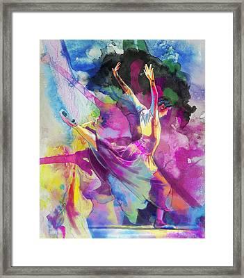 Flamenco Dancer Framed Print by Catf
