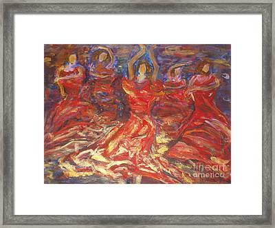 Flamenco Dancers Framed Print by Fereshteh Stoecklein
