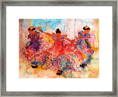 Flamenco Framed Print by John YATO