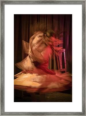Flamenco Series 7 Framed Print by Catherine Sobredo