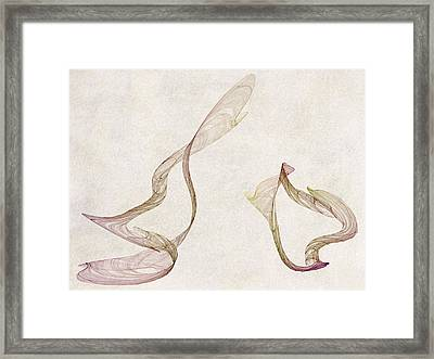Flames Framed Print by David Ridley