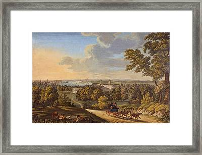 Flamstead Hill, Greenwich The Framed Print by English School