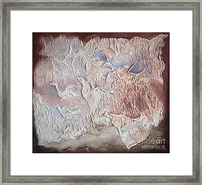 Flapping Of Wings Framed Print by Michaela Stejskalova