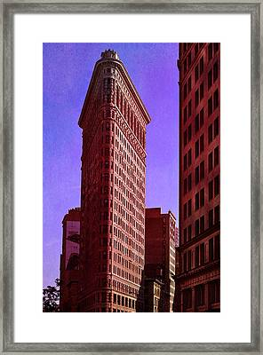 Flat Iron  Framed Print by Laura Fasulo