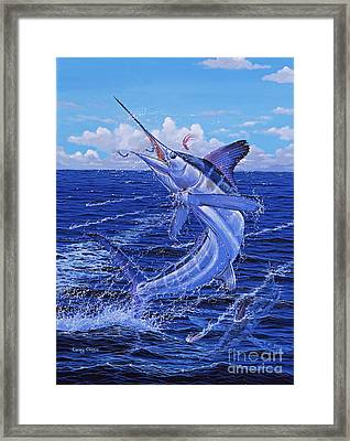 Flat Line Off0077 Framed Print by Carey Chen