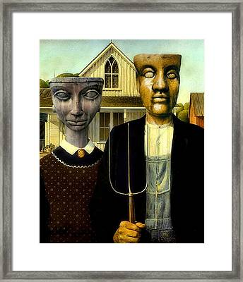 Flat Top Gothic Framed Print by James Stough