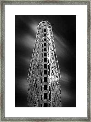 Flatiron Nights Framed Print by Az Jackson