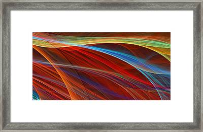 Flaunting Colors Framed Print by Lourry Legarde