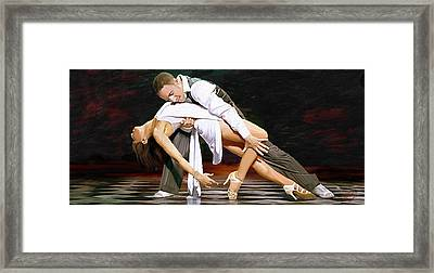 Flavia And Vincent Framed Print by James Shepherd