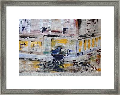 Fleeting Time Framed Print by PainterArtist FIN