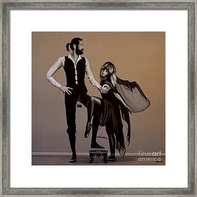 Fleetwood Mac Rumours Framed Print by Paul Meijering
