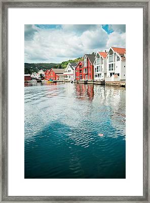 Flekkefjord Framed Print by Mirra Photography