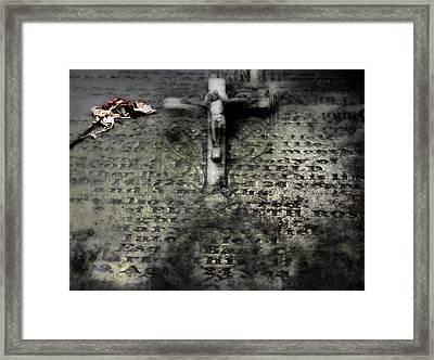 Fleshwound Framed Print by David Fox